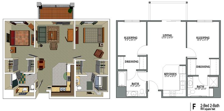 24 best images about house designs on pinterest house for Floor plans for 800 sq ft apartment