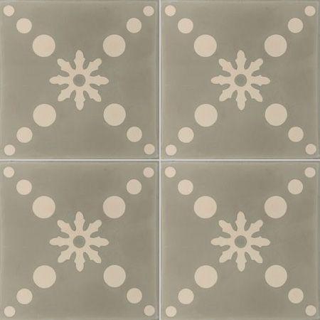 Carreaux de ciment - Les motifs - Carreau COF 16 - Couleurs & Matières