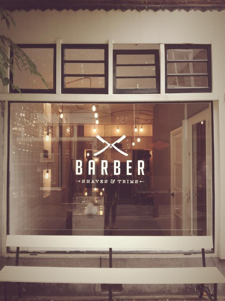 BARBER - Logo + Window