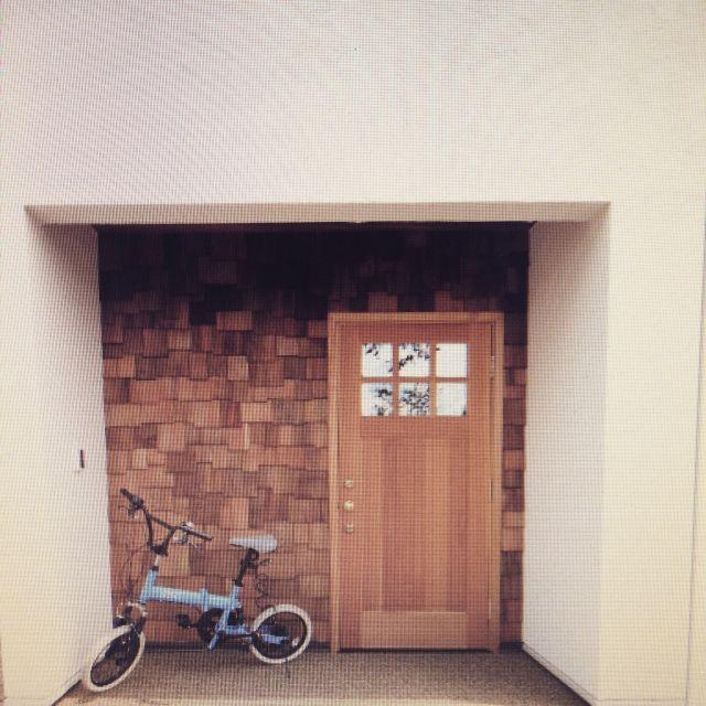 木の外壁/Entrance…などのインテリア実例 - 2015-02-27 00:11:24   RoomClip(ルームクリップ)
