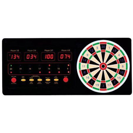 4-Player Display Touch-Pad Dart Scorer, Multicolor