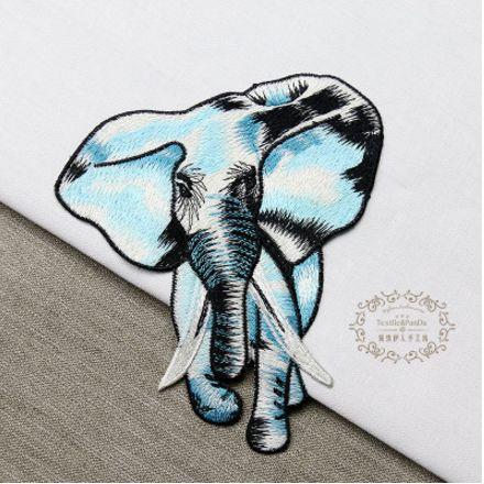 Aliexpress.com: Comprar Alta calidad 2 unids/set parches bordados para la ropa, grandes piezas de elefante diseño de parches para la ropa de coser parches para ropa de patch football fiable proveedores en MiMi Hotsell International Co.,Ltd