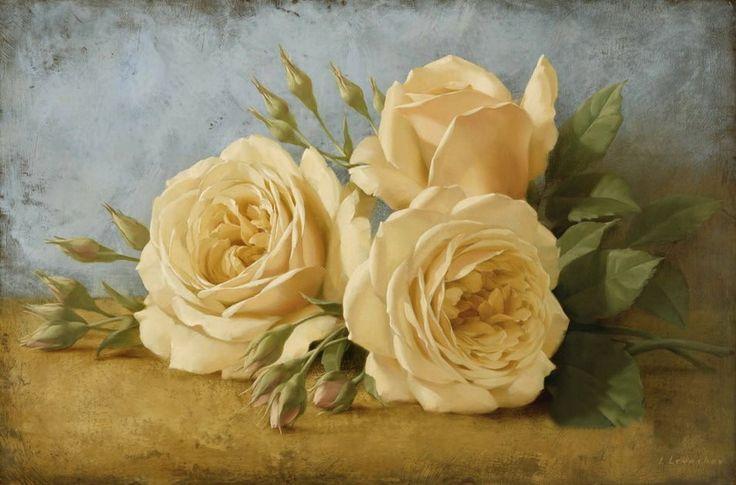 Igor Levashov [Игорь Левашов] 1964 | Flower painter | Tutt'Art@ | Pittura * Scultura * Poesia * Musica |