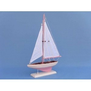 "Royal Dark Blue Sunset Sailboat 17"" Model Sailboat - Already Built Not a Kit - Wooden Sail Boat Replica Model Sailing Yacht Racer Nautical Home Beach Wall Décor or Gift (Toy)  http://howtogetfaster.co.uk/jenks.php?p=B0033DSUXK  B0033DSUXK"