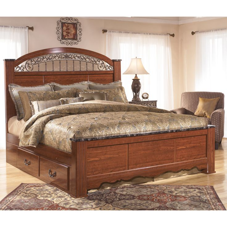 Constructed Of Red Brown Finished Faux Cherry Wood This
