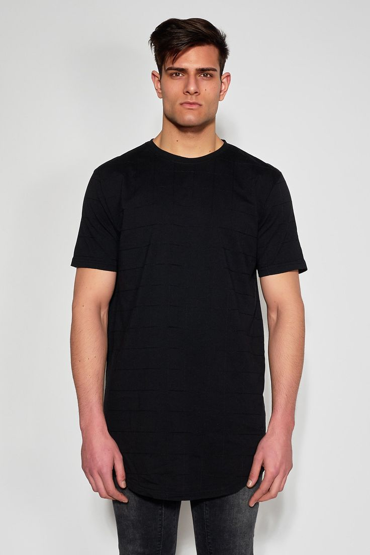 ANTIOCH - BLACK EMBROIDERED T-SHIRT #antioch #fashion #t-shirt #embroidered