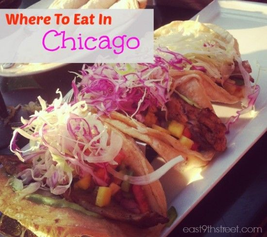 places to eat in Chicago