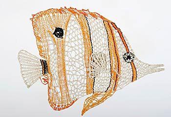 Сплетни с оранжевыми полосами - Нажмите для увеличения изображения