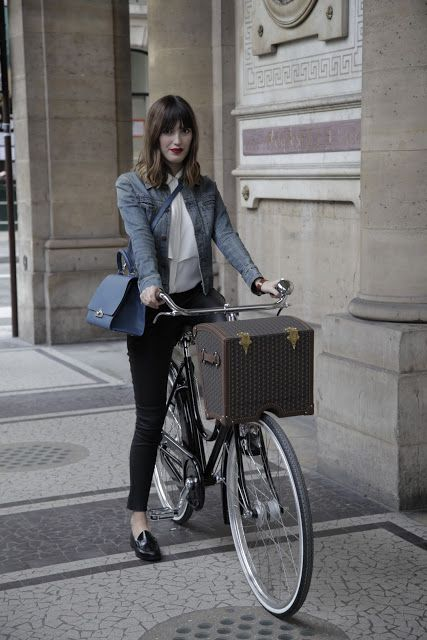 I have a bicycle. Je voudrais une bicyclette. Maybe just the basket?