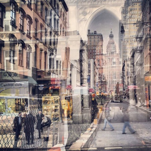 Daniella Zalcman, a photographer who parallels the cities of London and New York through these unique double-exposures.
