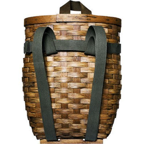 Pack-basket I have always wanted one of these! as a little girl I seen someone with one on the street in NY.