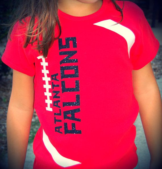 Girls kids youth Atlanta Falcons football tshirts Mommy and me shirts too Game Day Chic www.gamedaychicclothing.com