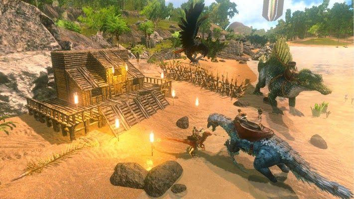 Ark Survival Evolved V1 1 16 Mod Apk Ark Survival Evolved