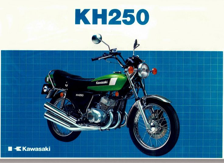 Kawasaki 250 KH motorcycle brochure | Flickr - Photo Sharing!