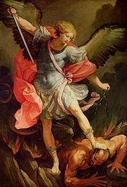Una colección de imágenes de San Miguel Arcángel que exploran su iconografía a través de los tiempos.: San Miguel Arcángel por Guido Reni