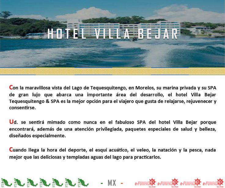 TEQUESQUITENGO - Hotel Villa Bejar