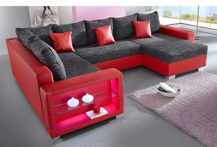 die besten 25 rote sofas ideen auf pinterest rote couchzimmer roter sofa dekor und rotes sofa. Black Bedroom Furniture Sets. Home Design Ideas