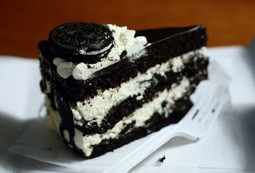 Triple Layer #Oreo Cake (from oreohungry.com): Desserts, Recipe, Cakes, Yummy Food, Sweet Tooth, Delicious, Oreo Cake