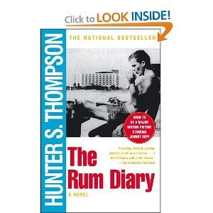 The Rum Diary: Book Club, Worth Reading, Hunters S Thompson, Book Worth, Hunters Thompson, Huntersthompson, Hunter S Thompson, Movies, Rum Diaries