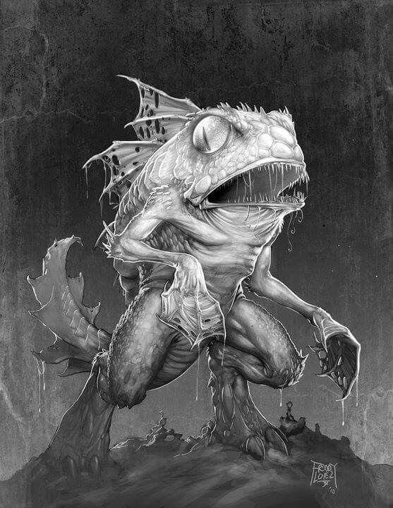 Similiar Lovecraft Creatures Art Keywords
