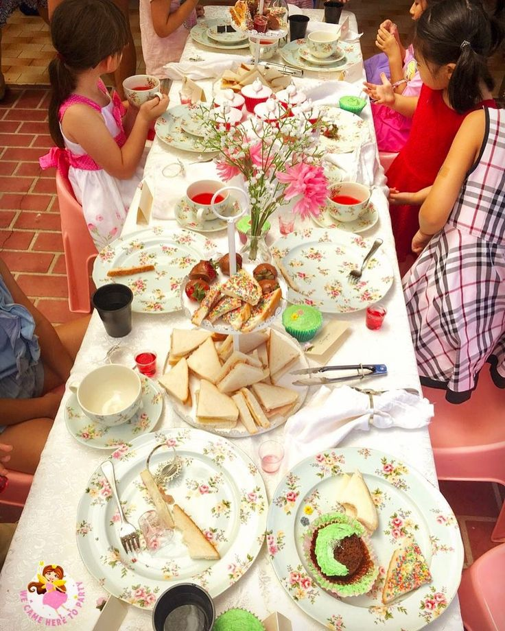 """50 Likes, 3 Comments - We Came Here To Party (@wecameheretopartyaus) on Instagram: """"✨What a children's tea party should ABSOLUTELY look like✨ ✅The mess we LOVE ✅ We do all the pack…"""""""