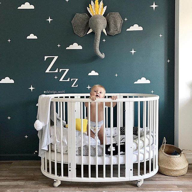 Stokke Sleepi Crib Bed Natural Nursery Baby Room Baby Cribs Baby Decor