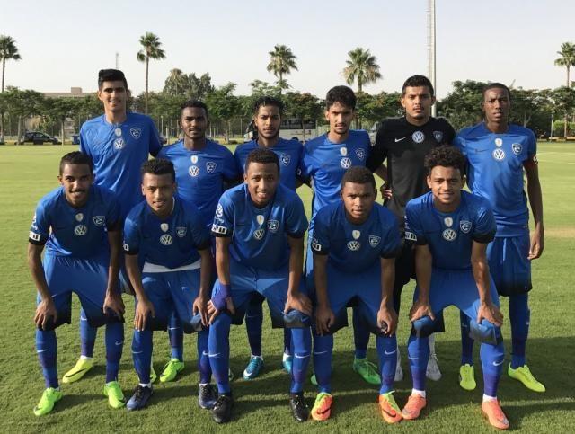 "Al-Hilal Olympic football team beats ""Ismailia"" team in the first pre-season friendly"