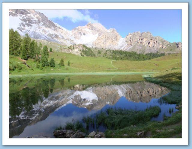 Randonn e gr5 lac miroir randonn e gr5 alpes jura for Lac miroir queyras
