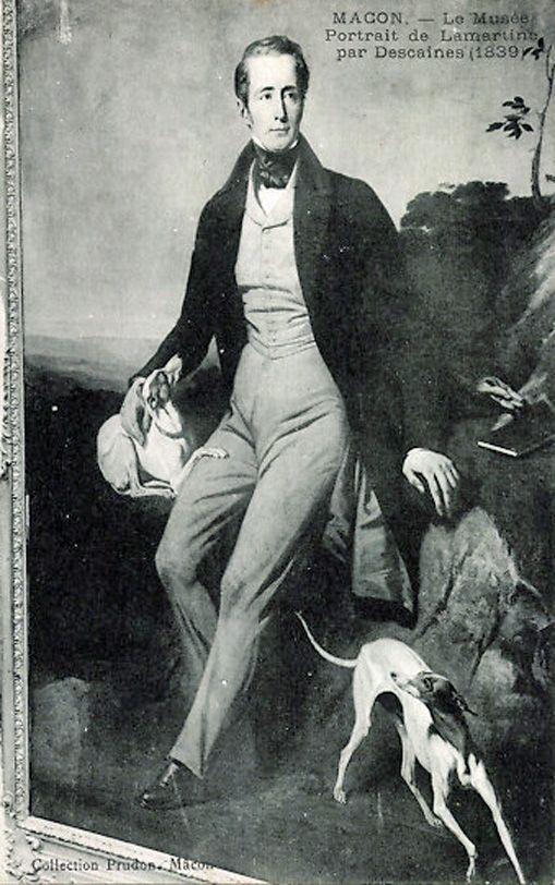 Alphonse de Lamartine ((1790-1869) dichter, heeft veel romantische gedichten geschreven waaronder het onvergetelijke Le Lac