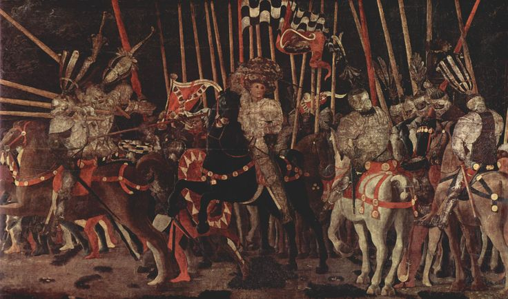 San Romano Battle  by Paolo Uccello,  - Part 3