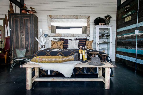 Welcome to the bedroom of a true modern day Hunter-Gatherer…