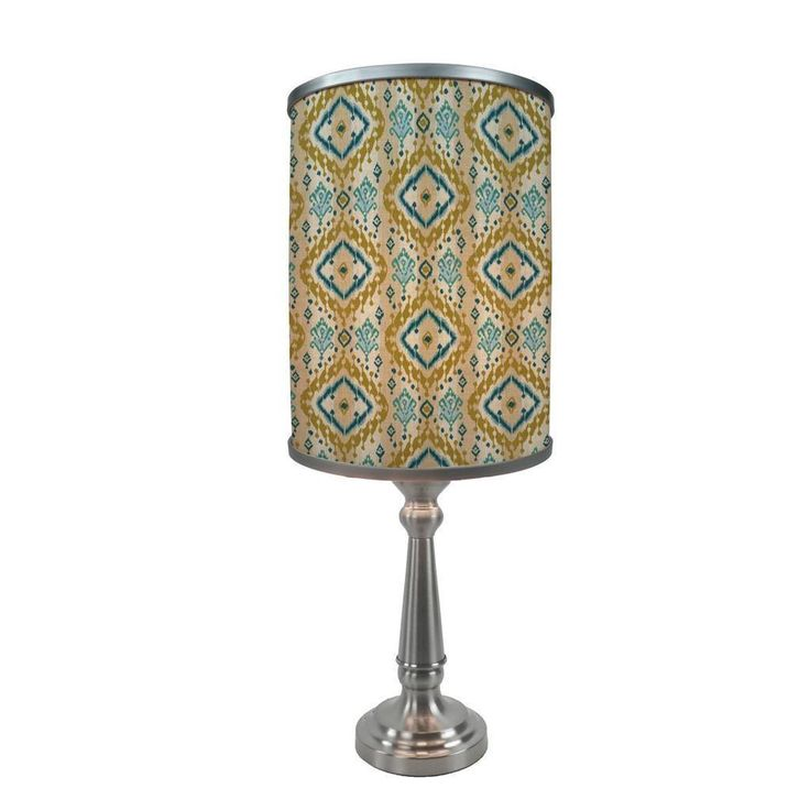 ArtLite Art Light Moroccan Mirage 1-light Silver Table Lamp