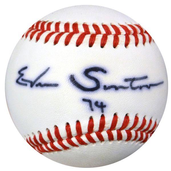 Ervin Santana Autographed Baseball Los Angeles Angels PSA/DNA #Z80543