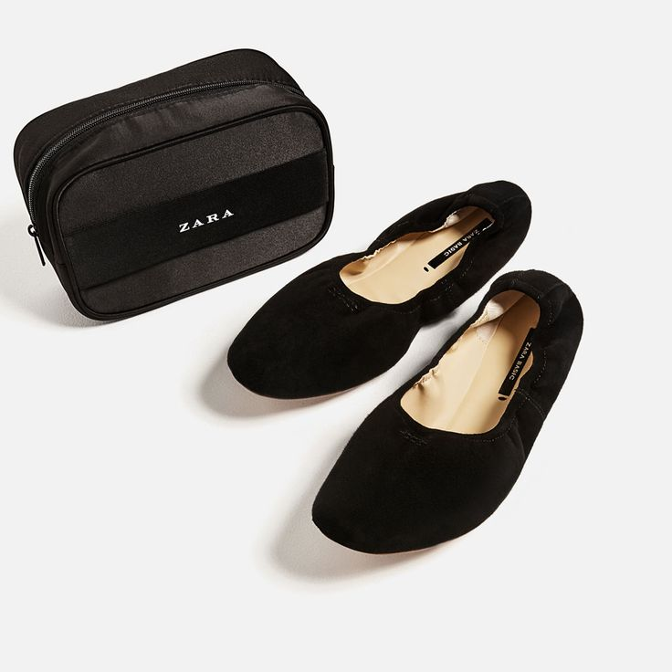 SOFT LEATHER BALLERINAS-SHOES-WOMAN-COLLECTION SS/17 | ZARA United States