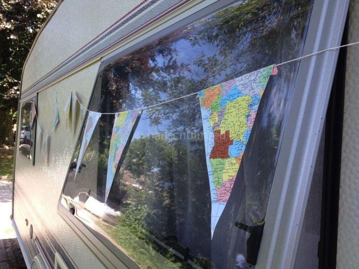 Vakantie vlaggenlijn DIY I gemaakt door het creatief lifestyle blog Badschuim