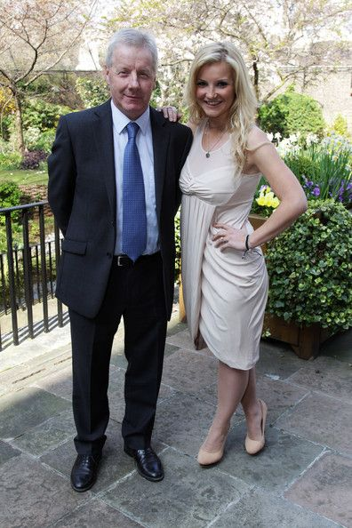 Helen Skelton Photos Photos - Richard Skelton and Helen Skelton attend a tea reception to congratulate Sport Relief 2012 celebrity challengers at No. 10 Downing Street on March 30, 2012 in London, England. - BBC Sport Relief Drinks Reception at No. 10