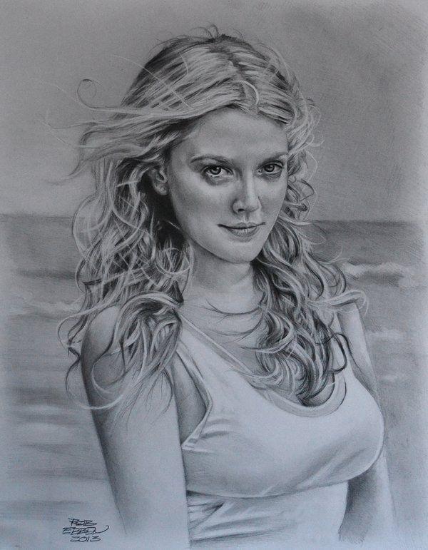Drew Barrymore by MrEyeCandy66.deviantart.com on @DeviantArt