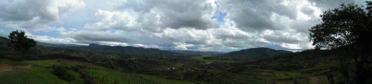 Panorama picture of wonderful Madagagar