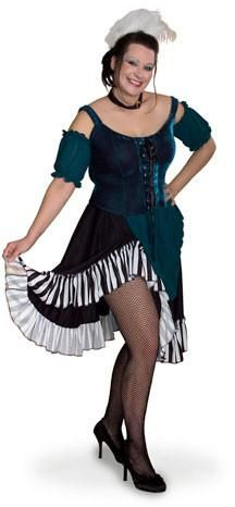 Lava Diva Saloon Girl Costume XL (4080-XL)