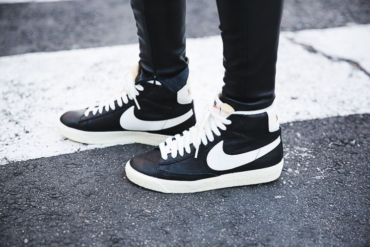 nike classic leather high tops.
