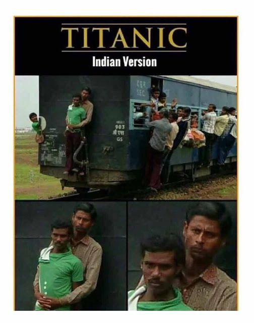 Funny Titanic Indian Version