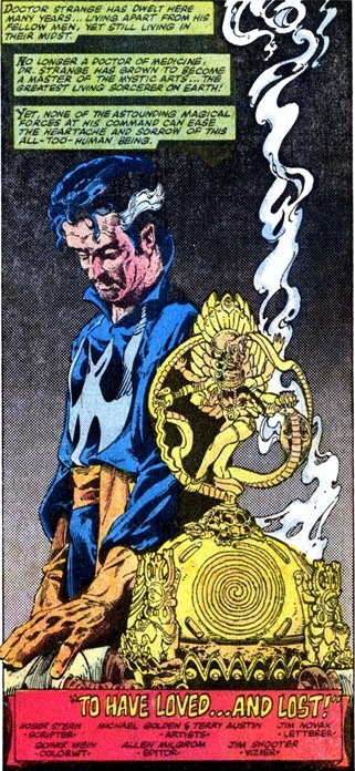 Dr Strange Art By Michael Golden