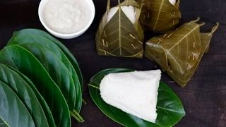 How to weave jackfruit leaves baskets.  Video - Konkani Food Recipes - YouTube