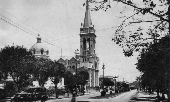 Col. Roma, templo de la Sagrada Familia a finales de los 20s.