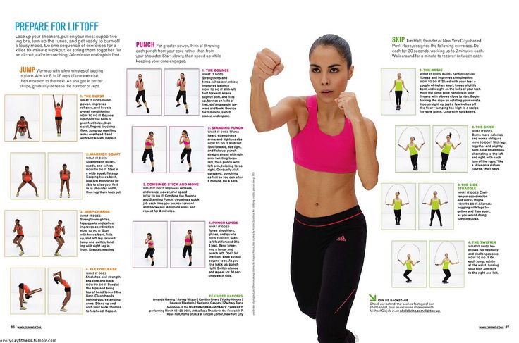 kickboxing fighter workout routine pdf