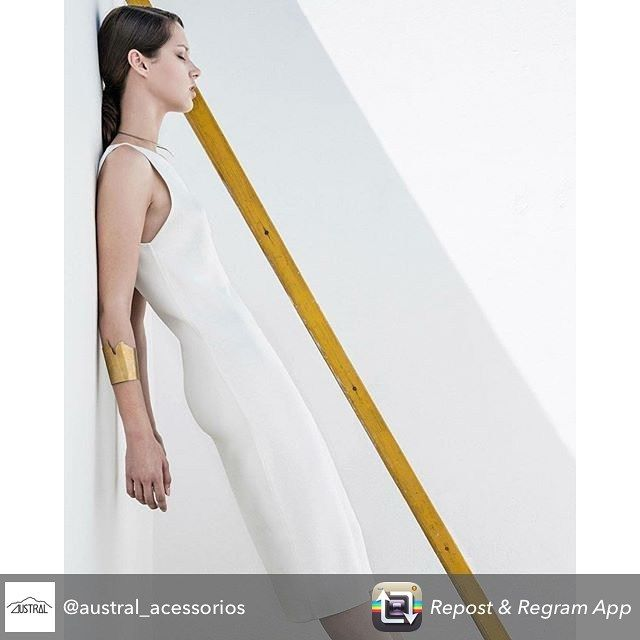 "Repost from @austral_acessorios using @RepostRegramApp - Nós amamos minimalismo e o que dizer do editorial ""Wanderer"" publicado na Solis Magazine @solismagazine que tivemos a honra dos nossos braceletes Pedras e Cuernos del Paine serem usados na produção! We love minimalism and what we could say about the fashion editorial ""Wanderer"" published on Solis Magazine that we have the honor to participate in the style with our bracelets Pedras and Cuernos del Paine. . Photo Ester Mendes…"
