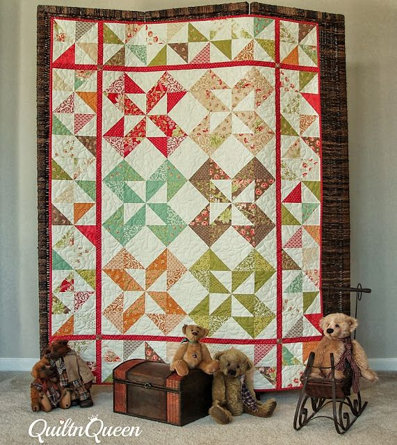 Charm Pack Moda Bake Shop Page 8 Quilt Patterns Pinterest Pinwheels, Chang e 3 and ...