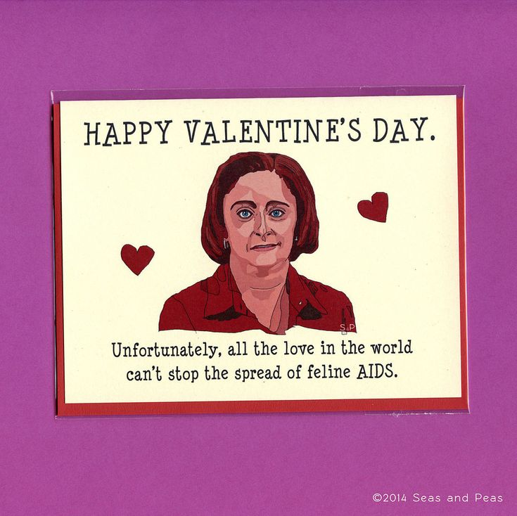 Debbie Downer Valentine's Day card ($4)