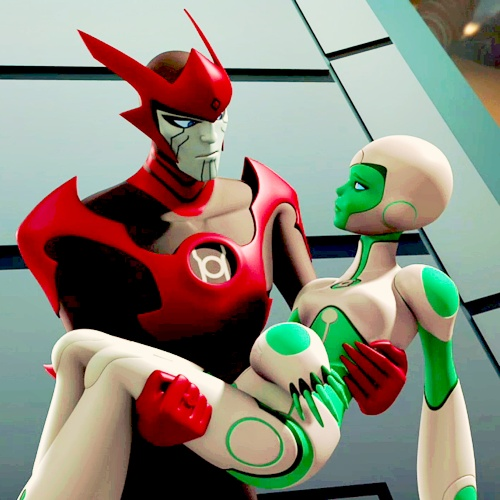 aya razer Green Lantern Animated | Tumblr