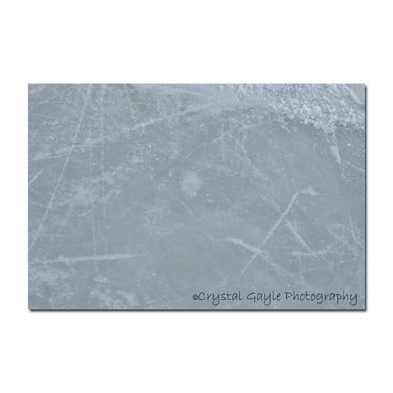 Outdoor Hockey Rink Photography  Ice Skating  by CrystalGaylePhoto